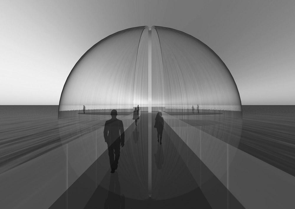 Phantasma_InstallationArt_Concept_WaterDome_LiquidArchitecture_©JacquelineHen.de
